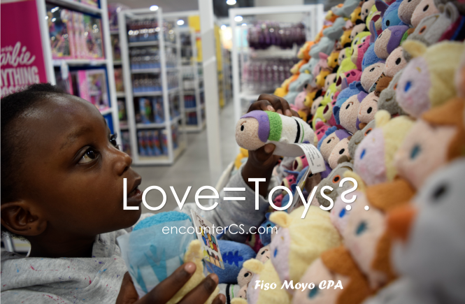 Love = Toys? True or False